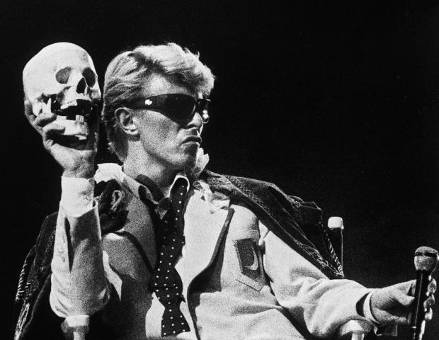British singer David Bowie performs on stage in Brussels, on May 20, 1983. (AFP/Getty Images)