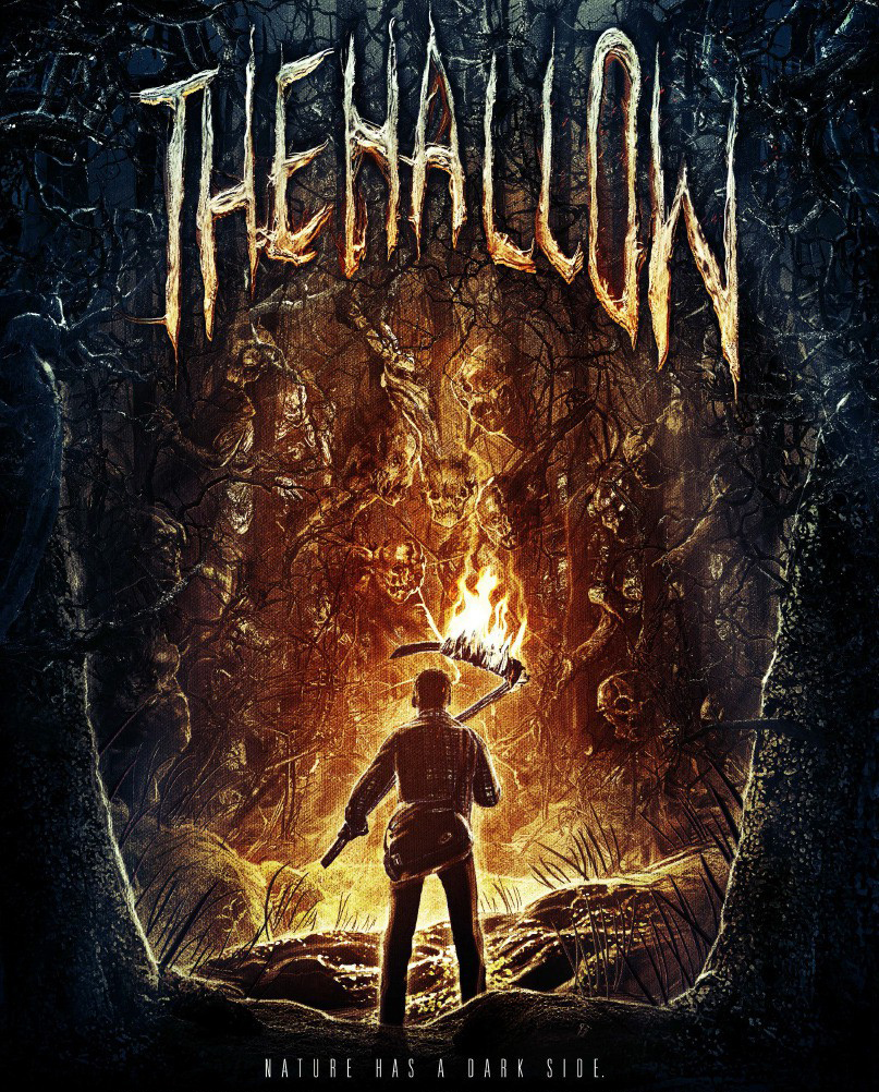 The Hallow, poster design by ArtMachine