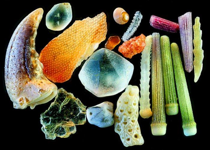 Sand Magnified by Yanping Wang