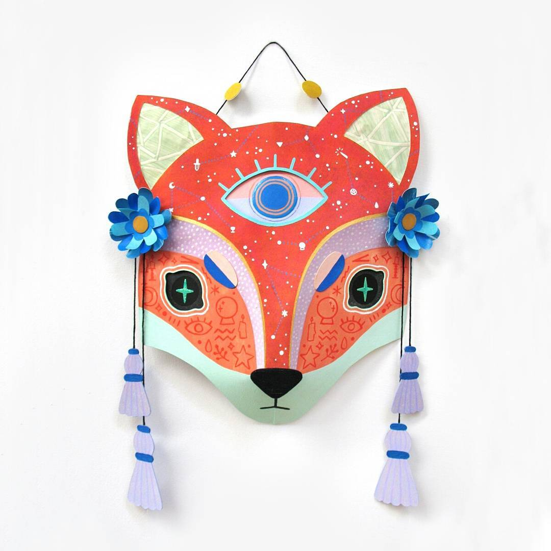 Fox Familiar Mask, Camille Chew