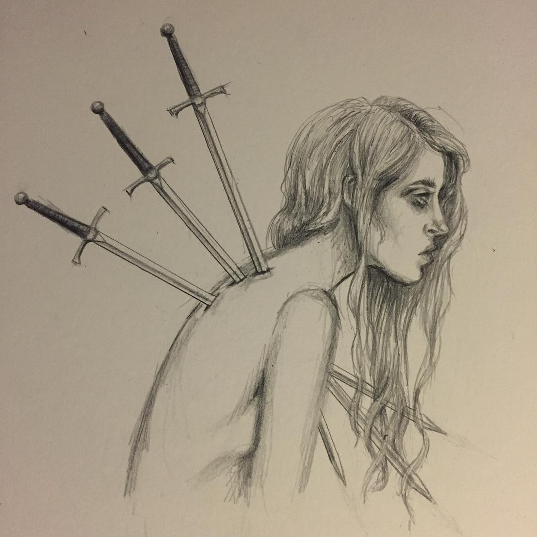 Three of Swords, Caitlin McCarthy
