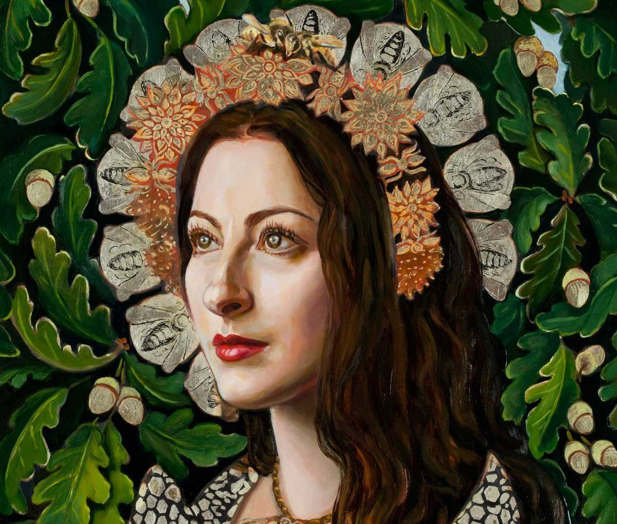 Pam Grossman feature image potrait detail by Carrie Ann Baade