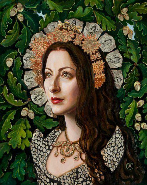 Portrait of Pam Grossman by Carrie Ann Baade