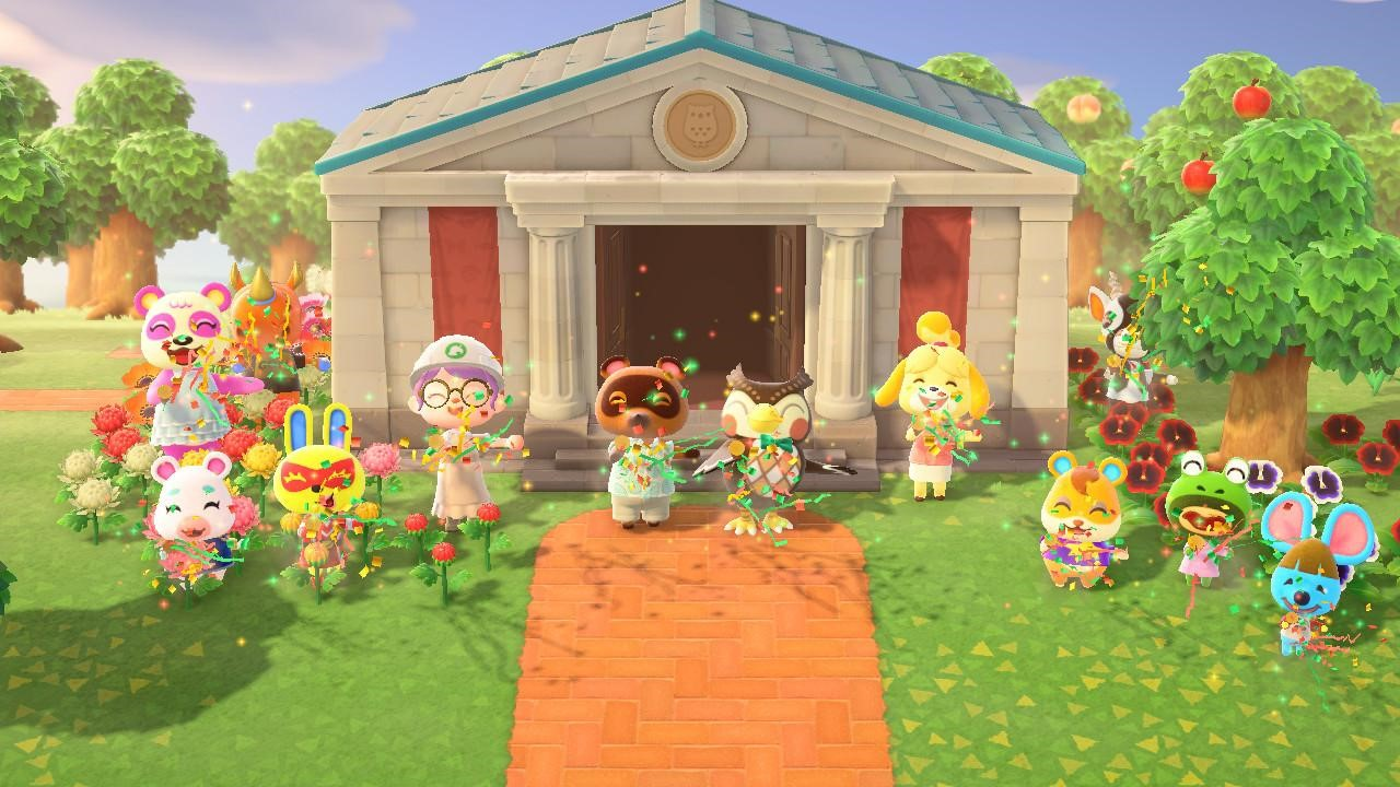 My island celebration for the museum expansion! Hooray!