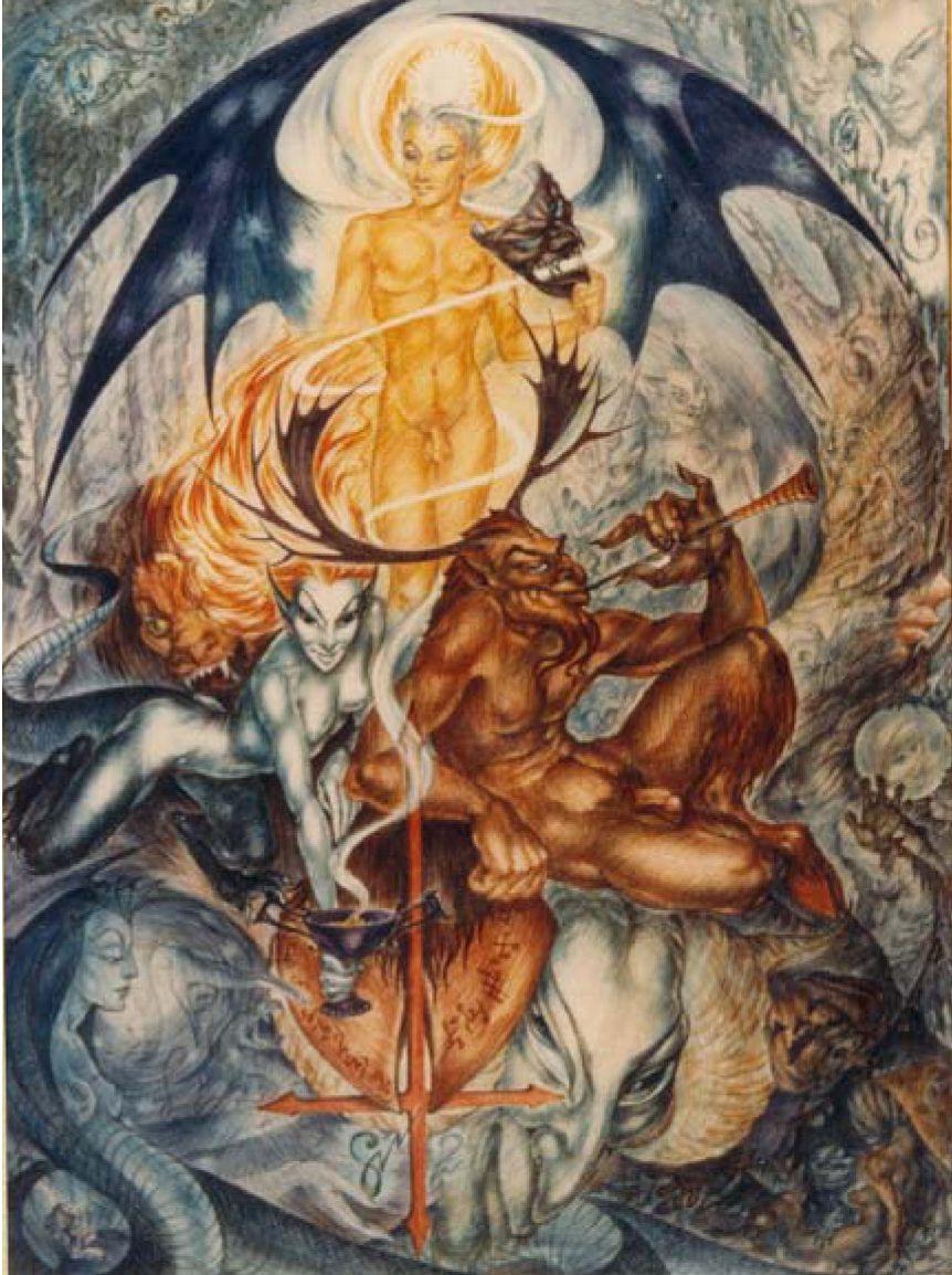"""""""Lucifer,"""" Rosaleen Norton"""